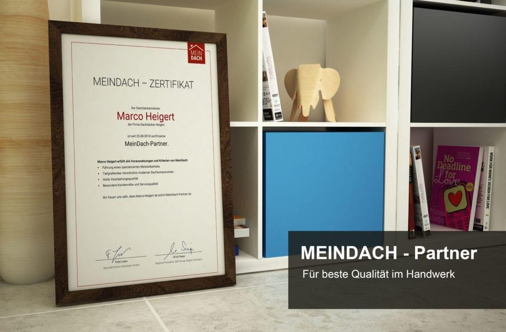 Zertifikate-MeinDach