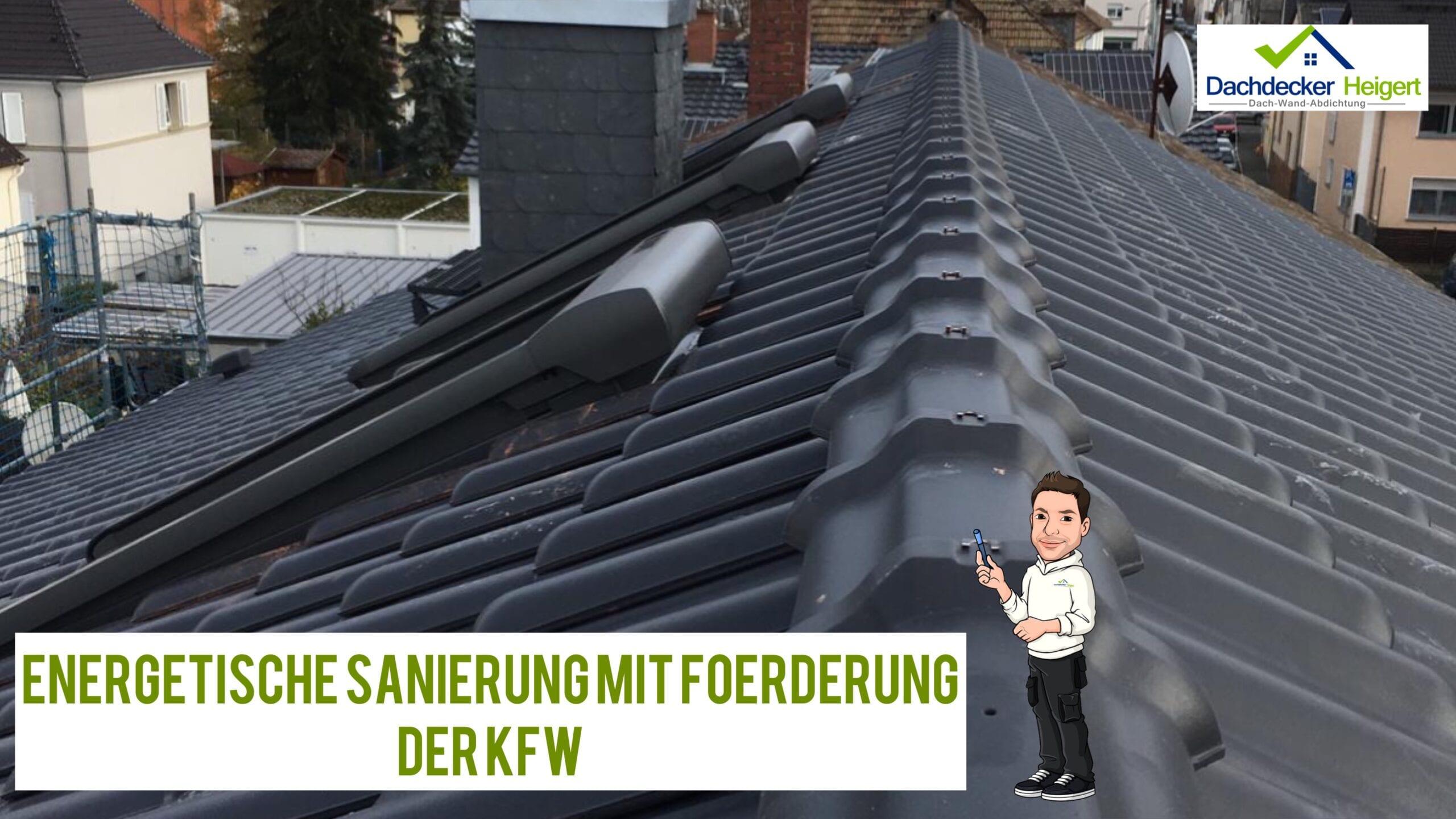 Energetische Sanierung mit Förderung der KFW