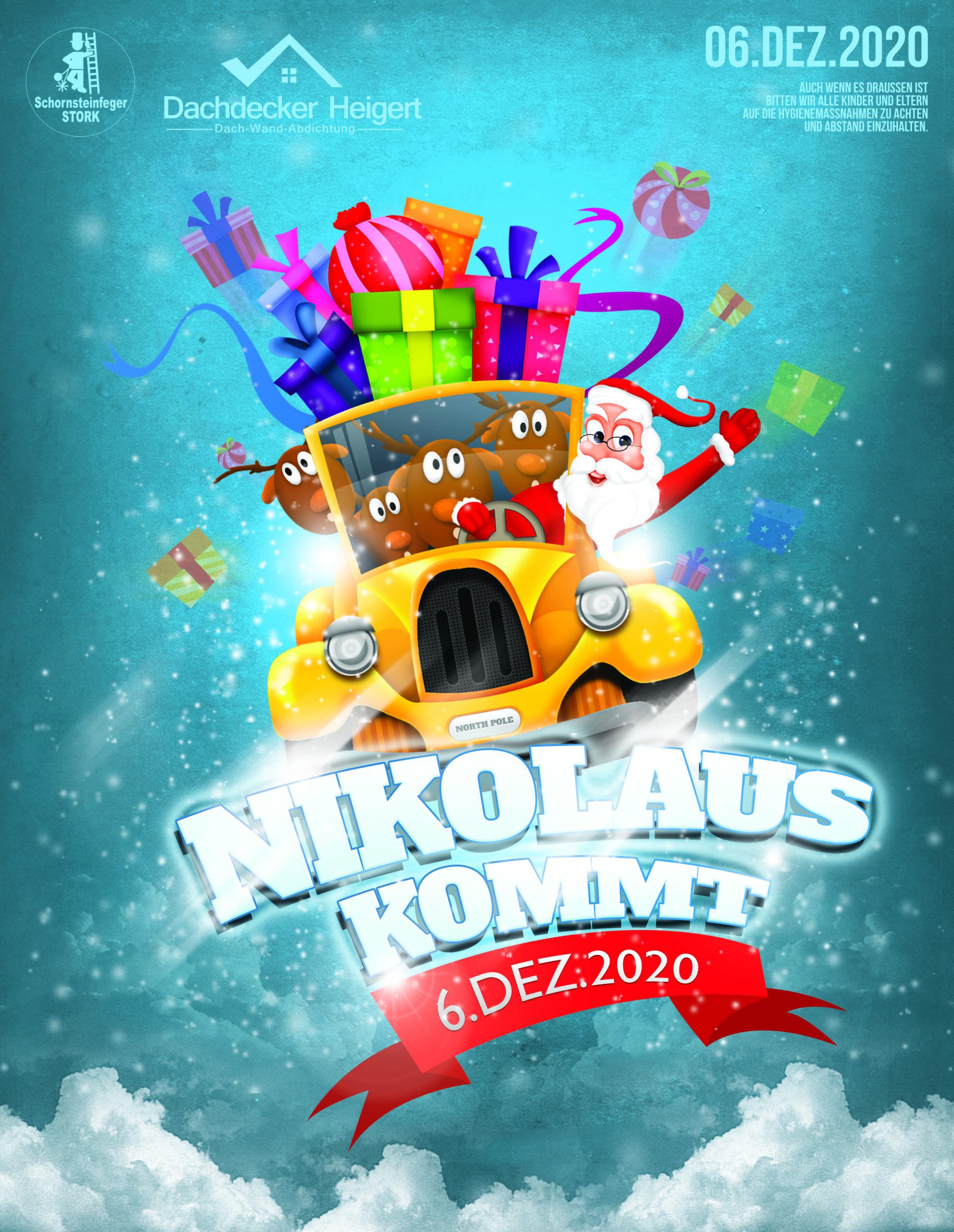Nikolaus kommt